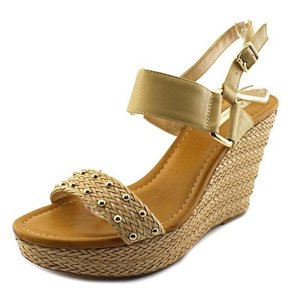 INC International Concepts Womens ALFFIE Open Toe Casual Platform Sandals