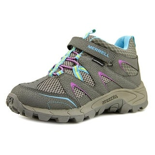 Merrell Hilltop Quick-Close WTRPF Round Toe Leather Hiking Shoe