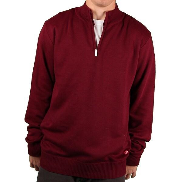 Ecko Unltd. Men's Solid 1/4-Zip Sweater