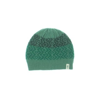 The North Face Womens Tribe N True Beanie Hat Marled Ribbed Trim - o/s