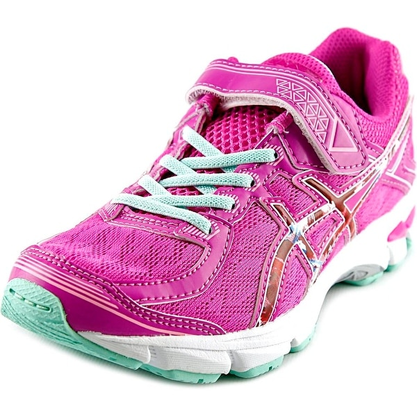 Asics GT-1000 4 GS Youth Round Toe Synthetic Pink Running Shoe