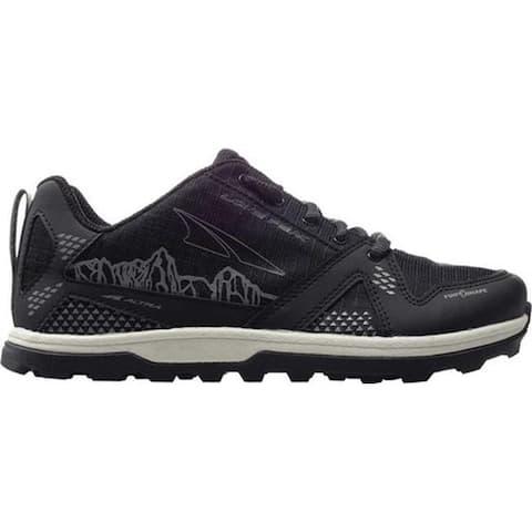 Altra Footwear Children's Youth Lone Peak Sneaker Black