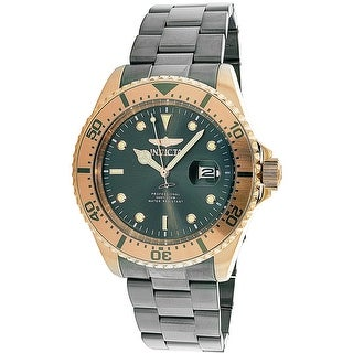 Invicta Men's Pro Diver 23401 Grey Stainless-Steel Japanese Quartz Diving Watch