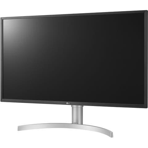"""LG 32BL75U-W Display Port+HDMI+USB-C 3840x2160 32"""" Monitor,Silver(Certified Refurbished)"""