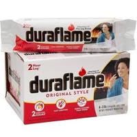Duraflame 00625 Firelogs, 3 Lb, Pack of 6