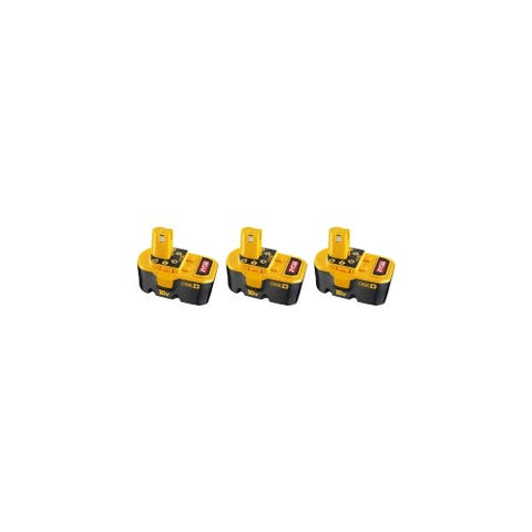 Replacement For 130224028 Power Tool Battery (2000mAh, 18v, NiCD) - 3 Pack