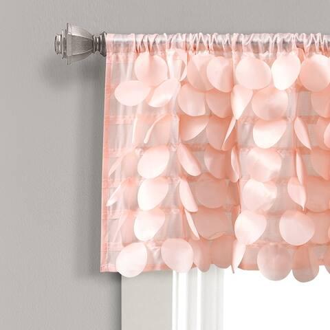 Lush Decor Gigi Window Curtain Valance