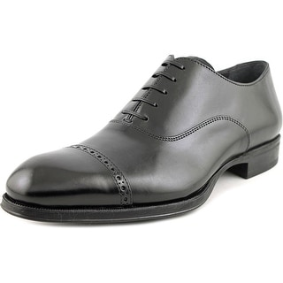 To Boot New York Derek Men Wingtip Toe Leather Black Oxford