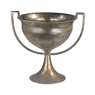 """GuildMaster 2100-013  10"""" Tall Metal Trophy Urn - Naturally Aged"""