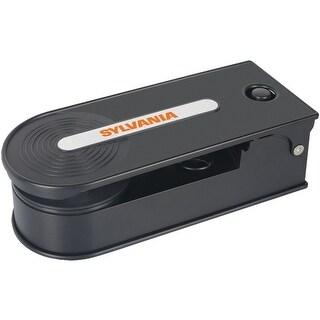 Sylvania STT008USB BLACK PC Encoding USB Turntable - Black Manufacturer Refurbished