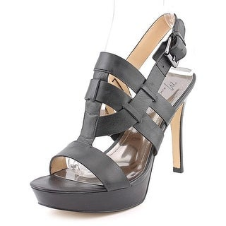 Marc Fisher Stanley Open Toe Leather Platform Sandal