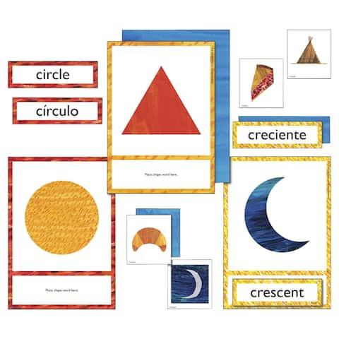 World of Eric Carle Shapes Learning Cards