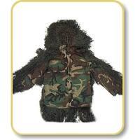 Ghillie Suits Sniper BDU Ghillie Suit Jacket - Woodland - Medium - Short