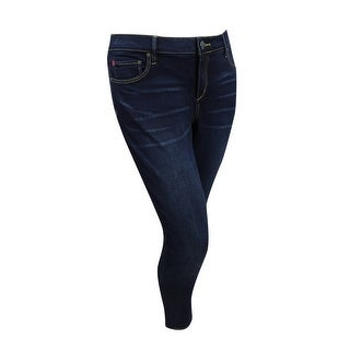 39eaa5ec773bd8 Shop Slink Jeans Women's Plus Size Ankle Jeggings (14, Amber) - Amber - 14  - Free Shipping Today - Overstock - 20354777