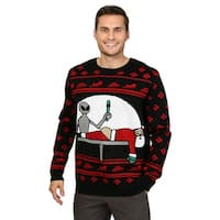 Men's Santa Probe Christmas Sweater