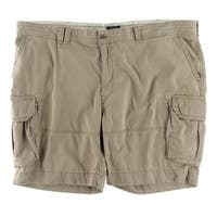 Polo Ralph Lauren Mens Big & Tall Cargo Shorts Deep Pocket Pleated