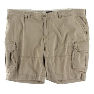 Polo Ralph Lauren Mens Big & Tall Cargo Shorts Deep Pocket Pleated