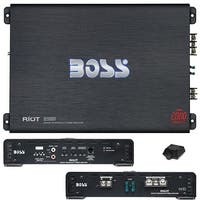 Boss Riot Monoblock Amplifier 2000W Max