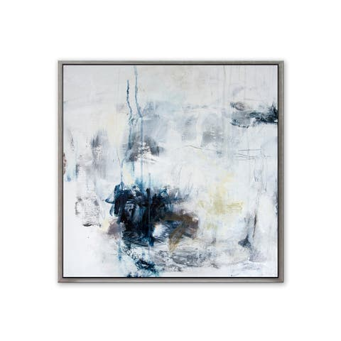 Serenity' Framed Canvas Wall Art by Patricia Schwimmer