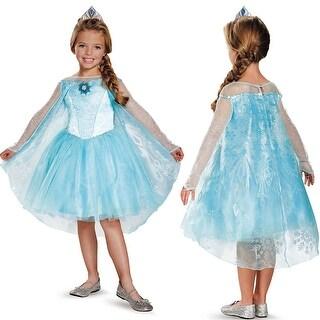 Girls Frozen Elsa Prestige Tutu Costume