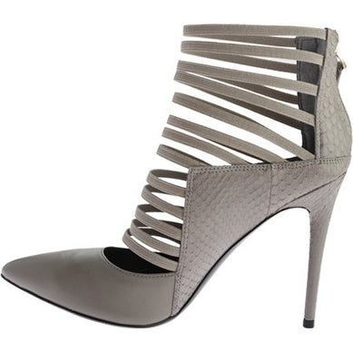 Kenneth Cole New York Women's Wam Dress Pump Grey Size 8.0