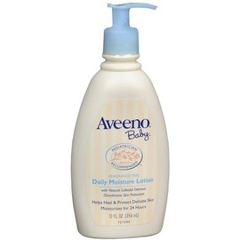 AVEENO Baby Daily Moisture Lotion Fragrance Free 12 oz