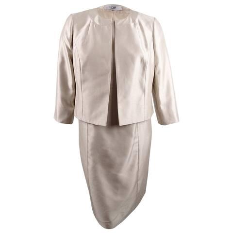 Le Suit Women's Le Suit Women's Open-Front Dress Suit