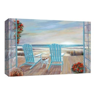 "PTM Images 9-147979  PTM Canvas Collection 8"" x 10"" - ""Serendipity"" Giclee Beaches Art Print on Canvas"