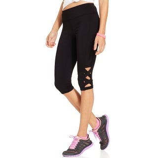 Link to Material Girl Womens Athletic Leggings Running Fitness - Black Similar Items in Athletic Clothing