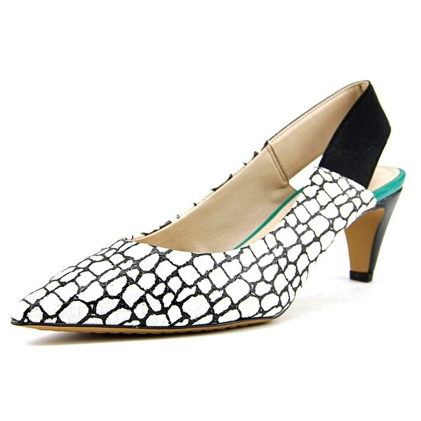 French Connection Kourtney Women White/Black/BLK Pumps