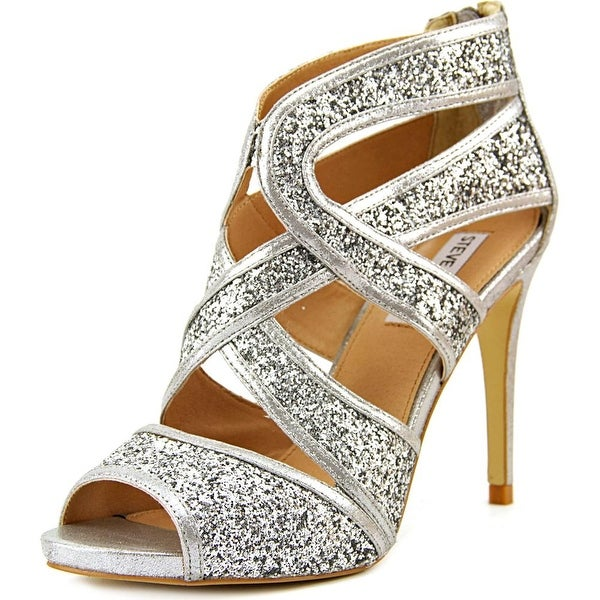 Steve Madden Immence Round Toe Synthetic Heels