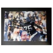 Howie Long Oakland Raiders 8x10 Inch Frame Free Shipping