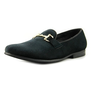 Steve Madden Coine Men  Round Toe Canvas Black Loafer