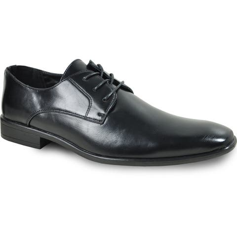 BRAVO Men Dress Shoe KING-1 Oxford - Wide Width Available