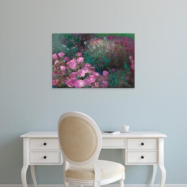 Easy Art Prints LI BO's 'Violet Garden' Premium Canvas Art