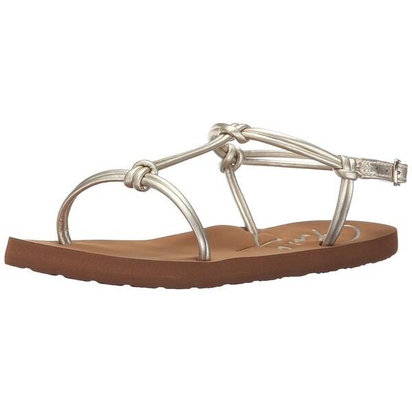 Roxy Womens Cecilia Open Toe Casual T-Strap Sandals