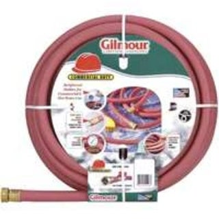"""Gilmour 18-58075 Reinforced Rubber Hose, 5/8"""" x 75', Red"""