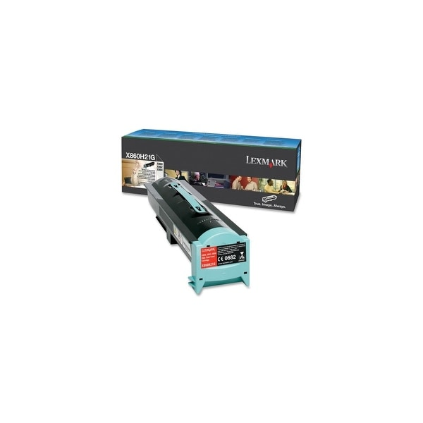 Lexmark X860H21G Lexmark High Yield Toner Cartridge - Black - Laser - 35000 Page - 1 Each