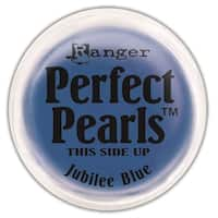Perfect Pearls Pigment Powder .25oz-Jubilee Blue