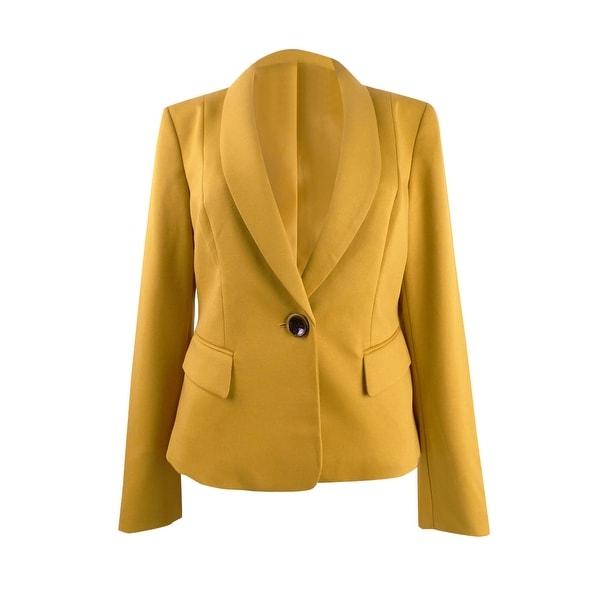 Kasper Women's Shaw-Collar One-Button Blazer. Opens flyout.