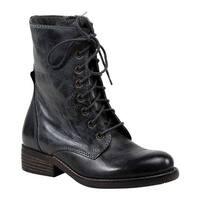 Diba True Women's Jump Back Logger Boot Grey Leather