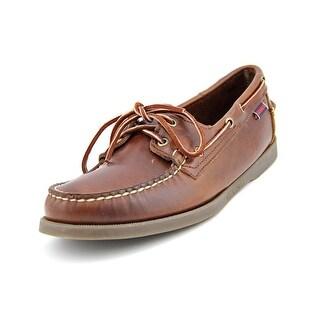 Sebago Docksides Moc Toe Leather Boat Shoe