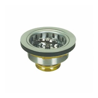 "Proflo PF1433BR Kitchen Sink Drain Assembly and Basket Strainer - Fits Standard 3-1/2"" Drain Connections"