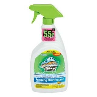 Scrubbing Bubbles 70755 Disinfectant Bathroom Cleaner 32 Oz, Lemon