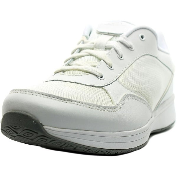 Easy Spirit Tourrun W Round Toe Leather Walking Shoe