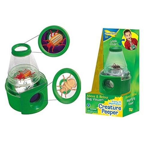 Insect Lore Bug Viewer And Case - Creature Peeper With 3x Magnified Vi - multi