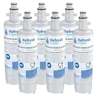 Replacement Water Filter For Kenmore 73052 Refrigerator Water Filter - by Refresh (6 Pack)