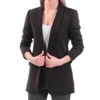 Womens Black Wear To Work Suit Jacket  Size  2