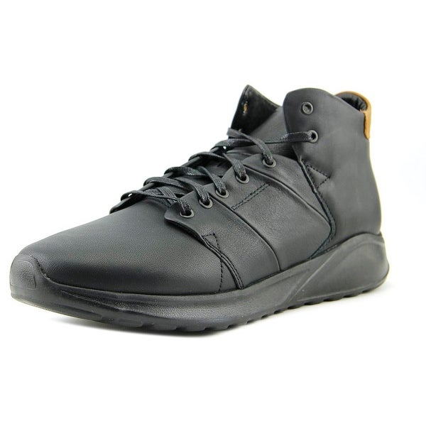 Globe Los Angered Lyte Men Round Toe Leather Black Sneakers