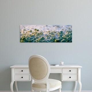 Easy Art Prints Panoramic Images's 'Pacific tide mist at Calumet Beach, La Jolla, San Diego, California' Canvas Art